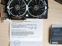 Видеокарта MSI GeForce GTX 1070 armor 8GB OC