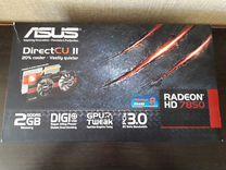 Видеокарта asus Radeon HD 7850 DirectCU II
