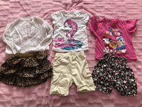 Одежда пакетом для девочки от 1-3 лет